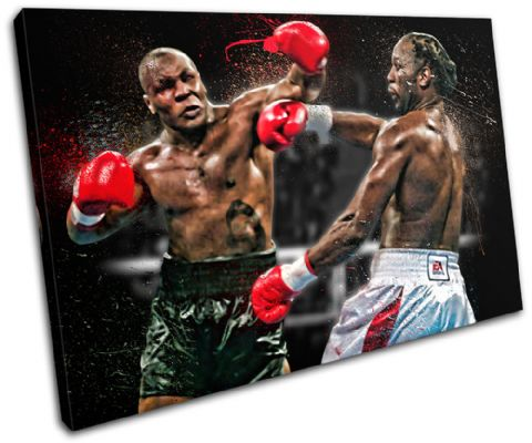 Mike Tyson Lennox Lewis Sports - 13-1923(00B)-SG32-LO